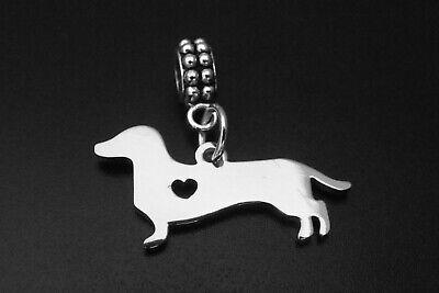 Dachshund Charm for Brand Bracelets Weenie Doxie Wiener Dog Sausage Dog Mom Pet ()