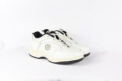 Vintage 90s Converse Mens 7 Womens 9 Steel Toe Leather Safety Work Shoes White Mens Converse Work Shoes