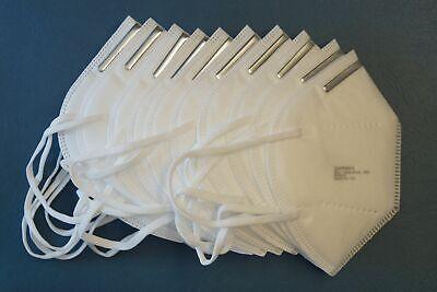 Atemschutzmaske Mund Nase Maske KN 95 IFA Zertifiziert ähnlich FFP2 10er Set
