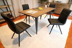 Superb Bamboo Top 1500mm Dining Table - Brand New