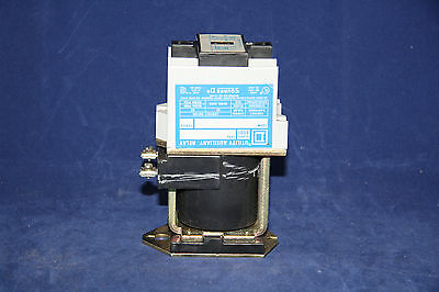 Square D 8501xud-40 Utility Auxiliary Relay 12 Pole Max.