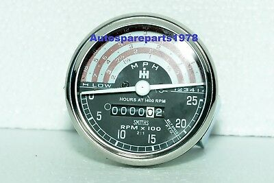 Tachometer For Ih International B250 B275 B414 276 354 434 444