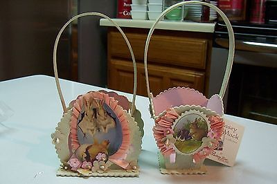 2009 Bethany Lowe by Casey Mack Small Easter Bucket Set of 2 CM6356](Easter Bucket)