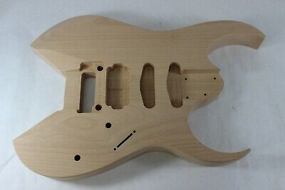 HXX basswood Replacement Guitar Body Roswell Rhoads V Fits Jackson Necks