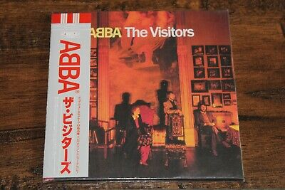 ABBA The Visitors MINI LP CD