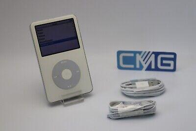 Apple iPod classic video 5. Generation 5G Weiß 80GB voll funktionstüchtig #F81 Classic 5g Video