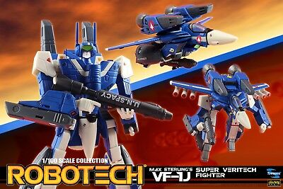 Macross Robotech Max VF-1J Veritech with Super Armor 1/100 Transformable - New