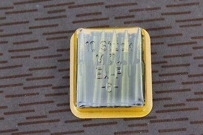 10 Exerzierpatronen Attrappen Dummys M74 5,45x39 für AK74 NVA DDR