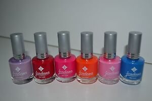 Jordana Nail Polish lot of 6 different colors free shipping!!!!