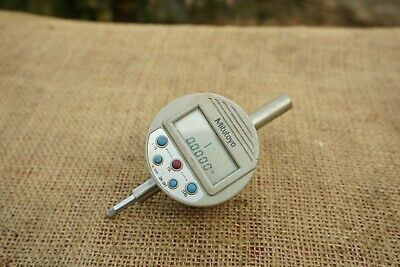 Mitutoyo 0 To 0.5 Inch Digital Indicator .0001 With Output  Lug Back Plate