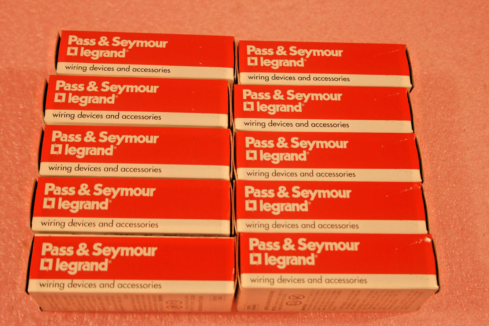 10 Pk Pass Seymour Legrand Crb 5362 I Duplex Receptacle Ivory Wiring Accessories 4 Of 7