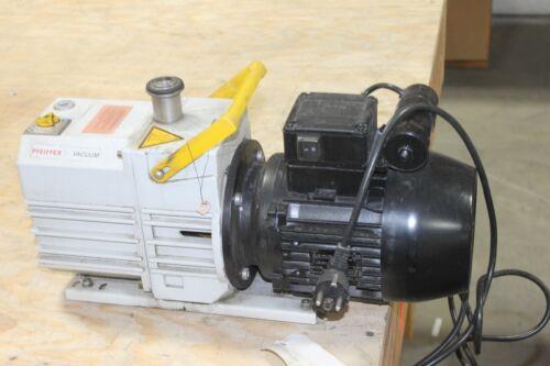 Pfeiffer Duo 5  Two Stage Rotary Vane Vacuum Pump