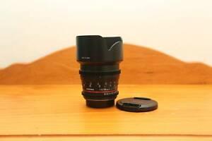 Samyang Cine 50mm T1.5 for Canon EF