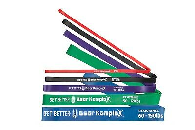 Bear KompleX Workout Looped Resistance Bands, Best for Pullups or Stretch