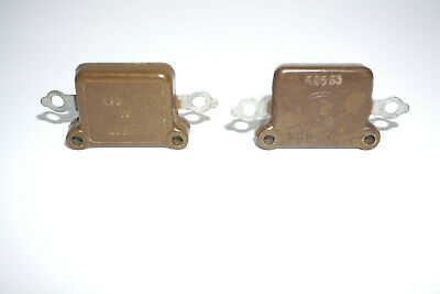 Kso 100pf 2500v 10 Silver Mica Capacitors New Qty 2pcs
