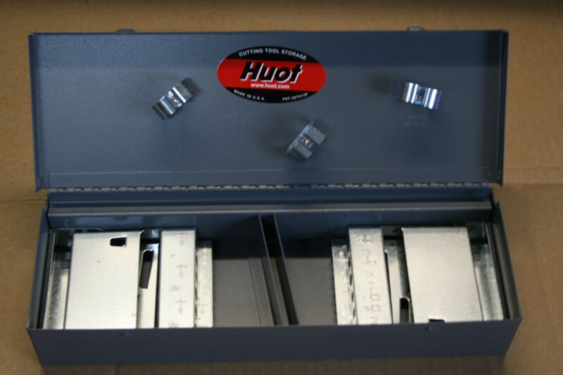 "HUOT NC & NF TAP/DRILL INDEX JOBBER (STANDARD) DISPENSER ORGANIZER 12700 ""NEW"""