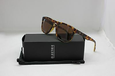 ELECTRIC LEADFOOT POLARIZED SUNGLASSES | GLOSS TORTOISE w/ BROWN LENS EE14210643