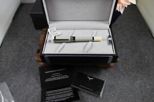 Tibaldi by Montegrappa New York Ivory Green IP Gun Fountain Pen TP031-FPIVG-IPG