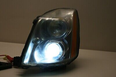 06-11 CADILLAC DTS DRIVER LEFT XENON HID HEADLIGHT HEAD LIGHT 15775393