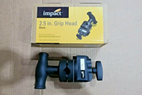 Impact 2.5In Grip Head Lights Accessory (KCP-200B) Black
