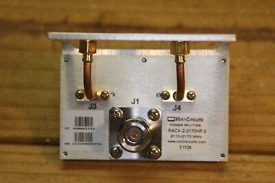 Mini Circuits Rack-2-2170hp-2 Power Splitter 2110 - 2170 Mhz