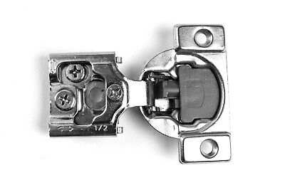 """50 Pack 1/2"""" Overlay 105 Degree, Soft Close, Face Frame, Cabinet Door Hinges for sale  Shipping to Canada"""