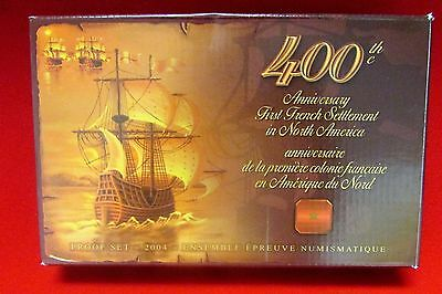 400th Anniversary First French Settlement in North America coin set