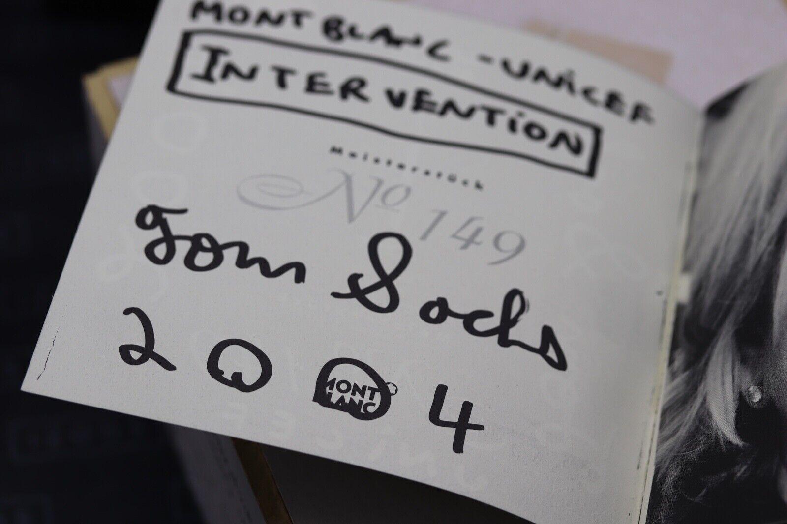 Montblanc Meisterstuck 149 Tom Sachs UNICEF Fountain Pen Set - UNUSED 5