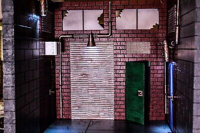Diorama Action Figure 1:12 Scale MADE TO ORDER Alleyway For Neca, Mezco.