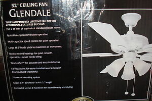 2 Brand new Ceiling fans in boxes with lifetime motor warranty