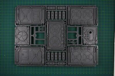 Necromunda Underhive Bulkhead Doors Gussrahmen 11001