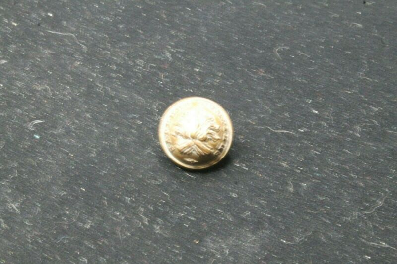 French France Large Sappers Pompiers Tunic Button Vintage