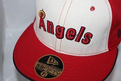 Anaheim Angels Cap - Anaheim Angels  New Era MLB Cooperstown Collection 59Fifty,Hat,Cap     $ 39.99