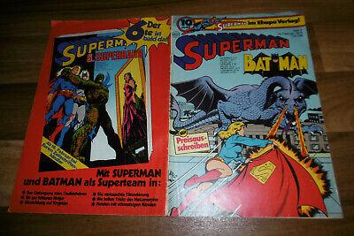 SUPERMAN / BATMAN  # 4 vom 14.2.1976 -- zum GEBURTSTAG ??