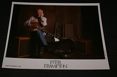 Peter Frampton 8x10 Color Press Photo #2 OUT OF PRINT FAST SHIPPING ROCK