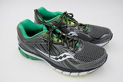 78f968953c9f Saucony Ride 6 Running Shoes Men s Gery Green Citron Size US 10 EU 44 Used