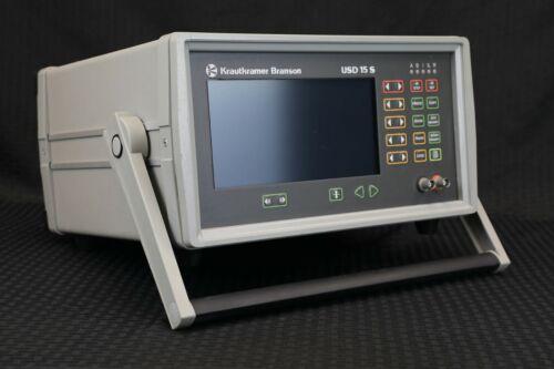 Krautkramer Branson USD 15 S Ultrasonic Flaw Detector - NDT Inspection UT