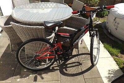 """BICYCLE- CHALLENGE 26 """" 18 SPEED,DUAL SUSPENSION, LITERALLY USED ONCE!"""
