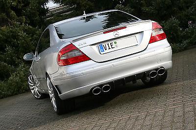 MH-DEZENT 4 Rohr Sportauspuff  V8 Mercedes CLK 500   AMG W209 C209