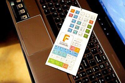 Fusion 360 Keyboard Shortcuts Mach3 Cadcam Mach4 Cnc