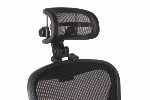 The Original Headrest For Herman Miller Aeron Chair by Engineered Now.