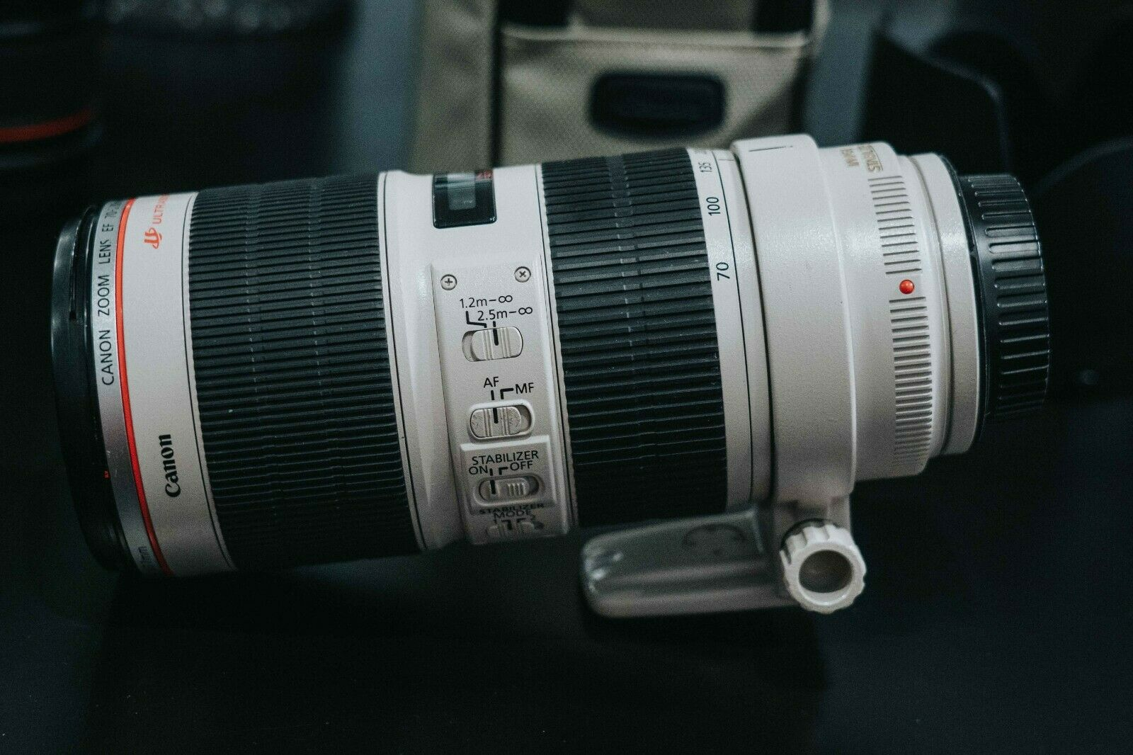 Canon SLR Lenses EF 70-200mm F/2.8L IS II USM Telephoto Zoom Lens - $1,098.97