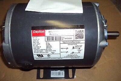 Dayton 6k030 Motor 13 Hp 1725 Rpm115v 56z Split Phase Hvacr App 1 Spd