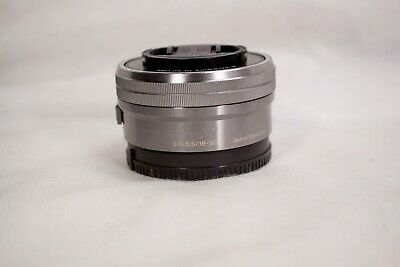 Sony SELP1650 E PZ 16–50mm f/3.5–5.6 OSS Telephoto Lens- Silver