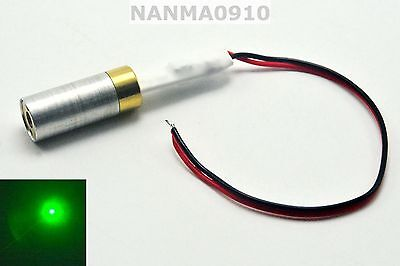 Industriallab 532nm 10mw Green Dot Ray Laser Diode Module 5v Lazer Unit