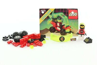 Lego Space M:Tron Set 6833-1 Beacon Tracer 100% complete + instructions 1990