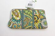 Vera Bradley Clutch Wallet Lemon Parfait