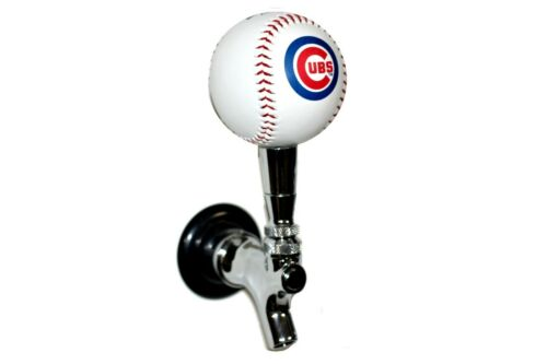 Chicago Cubs Licensed Baseball Beer Tap Handle