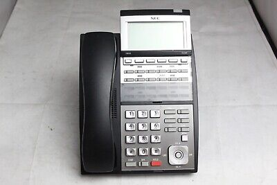 Lot Of 10 Nec Ip3na-12txh Tel Blk Digital Business Office Phones
