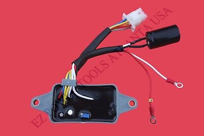Direct Replacement Generator Voltage Regulator AVR for HONDA 32350-ZB5-733